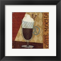Framed Jazzy Coffee II