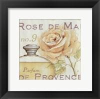 Framed Fleurs and Parfum I