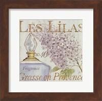 Framed Fleurs and Parfum IV