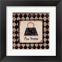 The Purse Framed Print