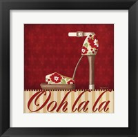 Framed Ooh La La Shoe II