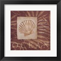 Framed Live in the Ocean