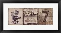 Drive-In Framed Print