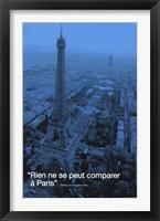 Framed Paris (City.Quote)