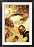 Framed Clash of the Titans - Scorpion