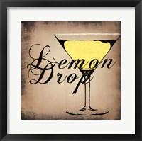 Framed Lemon Drop