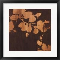 Falling Leaves II Framed Print