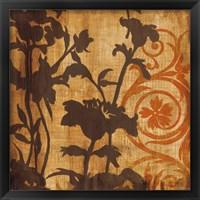 Framed Chocolate Scroll
