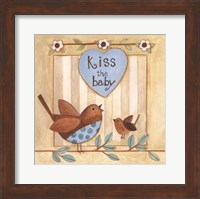 Framed Kiss the Baby
