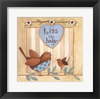 Kiss the Baby Framed Print
