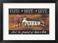 Framed Greatest Church
