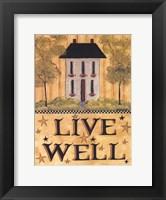 Framed Live Well House