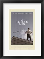 Framed Serious Man, c.2009 - style A