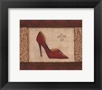 Fashion Shoe I Framed Print