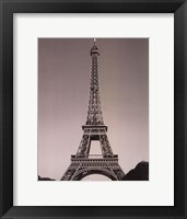Framed Eiffle Tower I