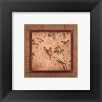 Outdoor Aviary II - petite Framed Print