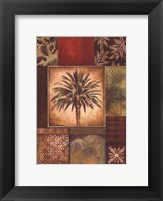 Palm Collage I - petite Framed Print