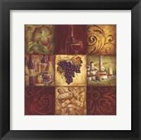 Framed Tuscan Wine II - mini