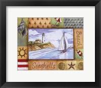 Summer Beach II Framed Print