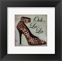 Framed Exotic Shoe I - petite
