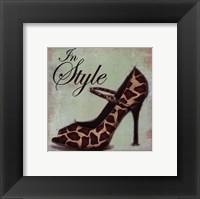 Framed Exotic Shoe II - petite