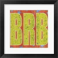 Framed BRB