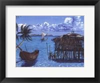 Caribbean Catch Framed Print