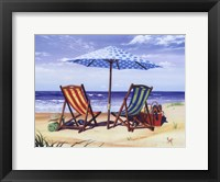 Made In the Shade Framed Print