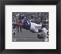 Framed Ray Rice 2009 Spotlight Collection