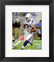Framed Donald Brown 2009 Action