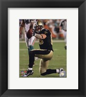 Framed Jeremy Shockey 2009 Action