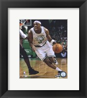Framed Paul Pierce 2009-10 Action