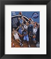 Framed 2009-10 Utah Jazz Team Composite