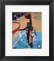 Framed Ron Artest 2009-10 Action