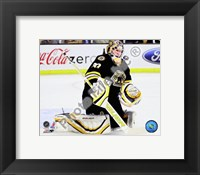 Framed Tim Thomas 2009-10 Action