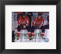 Framed Alex Ovechkin & Alexander Semin 2009-10 Action