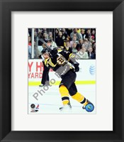Framed Patrice Bergeron 2009-10 Action