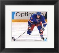 Framed Marc Staal 2009-10 Action