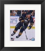 Framed Derek Roy 2009-10 Action