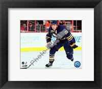 Framed Paul Gaustad 2009-10 Action