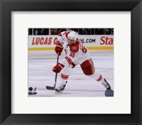 Framed Ed Jovanovski 2009-10 Action