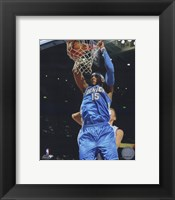 Framed Carmelo Anthony 2009-10 Action