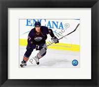Framed Dustin Penner 2009-10 Action