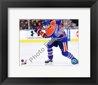 Framed Shawn Horcoff 2009-10 Action
