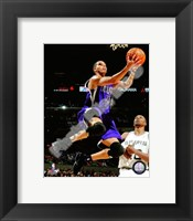 Framed Kevin Martin 2009-10 Action