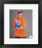 Framed John Cena 2010 Posed
