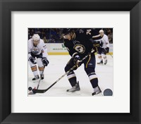 Framed T.J. Oshie 2009-10 Action