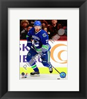Framed Daniel Sedin 2009-10 Action