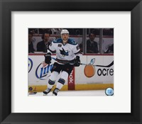 Framed Ryan Clowe 2009-10 Action