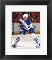 Framed Tomas Kaberle 2009-10 Action